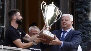 Кметът на Пловдив обеща скоро да стартира строителството на стадионите