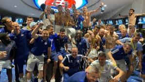 Слован Братислава триумфира с купата на Словакия, Ожболт вкара победния гол