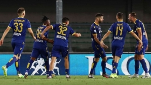 "Интер отново разочарова с равенство на ""Бентегоди"" (видео)"