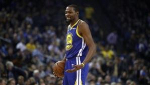Дюрант към гард на Атланта: Добре дошъл в НБА, новобранецо