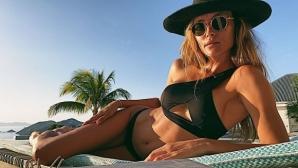 Любимата на Лавеци: Нямам търпение да бъда на плажа без дрехи (снимки)
