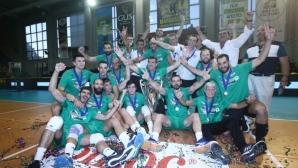 Панатинайкос е отново шампион на Гърция (снимки)