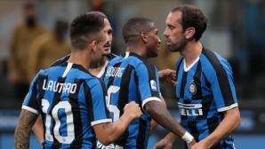 Три бързи гола след почивката и Интер стъпи на второто място (видео)