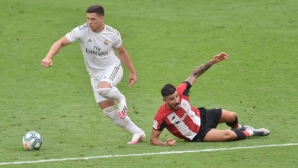 Йович е на линия за първия мачбол на Реал Мадрид