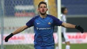 Бивш нападател на ЦСКА и Левски подписа с румънски гранд