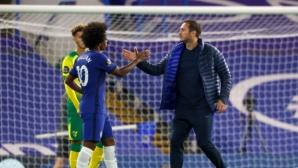 """Лампард е доволен от победата, но критикува играта на """"сините"""""""