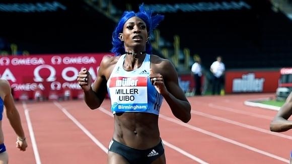 Шона Милър-Юйбо със силни резултати в спринта във Франция