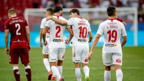 Спартак (М) завърши сезона с победа в мач с три дузпи (видео)