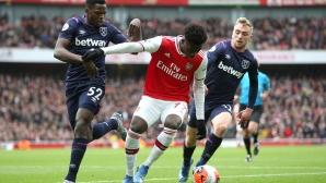 Нигерия бърза да изпревари Англия за футболист на Арсенал