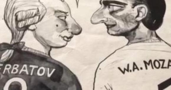 Шаржовете на Бербатов, които доскоро пазеше в тайна (видео + снимки)