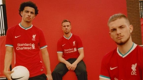 Ливърпул представи първия си екип от партньорството с Nike