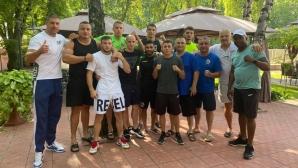 Боксьорите пристигнаха в Украйна