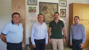 Ръководството на НВЛ и кметът на Кърджали обсъдиха люпилнята за таланти Арда