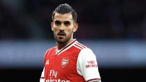 Себайос ще остане в Арсенал за още година