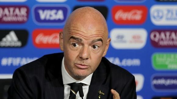 ФИФА отказа да съобщи дали ще проведе разследване срещу Джани Инфантино