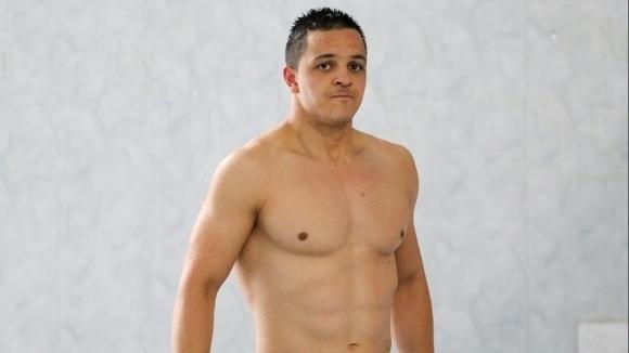 Цанко Цанков с подготвителна тренировка преди опита си да подобри световен рекорд
