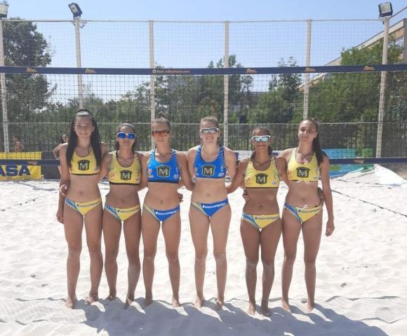 Полуфиналите на държавното първенство по плажен...
