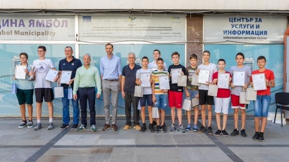 Кметът на Ямбол поздрави момчетата на Тунджа за вицешампионската титла