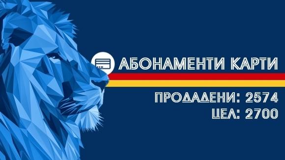 Левски си постави за цел да продаде още 126...