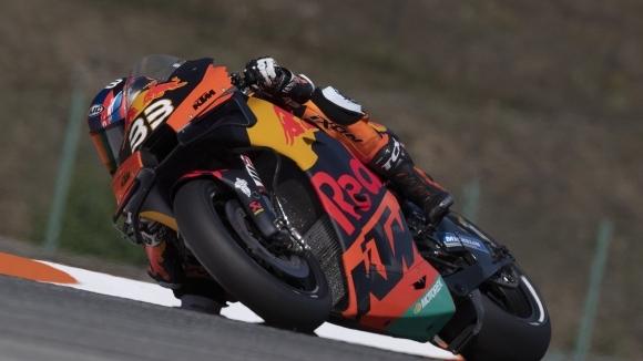 Историческо! Брад Биндър донесе първа победа за KTM в MotoGP след безгрешно представяне в ГП на Чехия