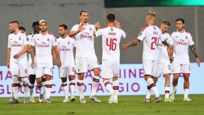 """Милан над всички в Серия """"А"""" след паузата"""