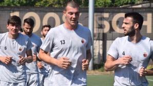 Локомотив (Пловдив) започна подготовка с новия си треньор