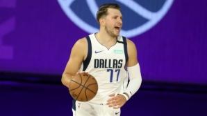 Безмилостен Лука Дончич пренаписа историята на НБА (видео)