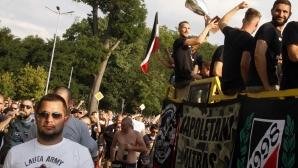 Феновете на Локо (Пловдив) с уникално видео преди дербито (видео)