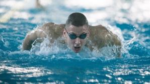 Феноменално плуване на Йосиф Миладинов за нов национален рекорд на 100 м бътерфлай (видео)