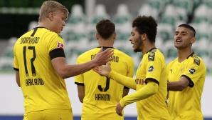 Докато Юнайтед умува, Борусия (Д) предложи нов договор на Санчо