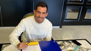 Тевес подписа нов договор с Бока