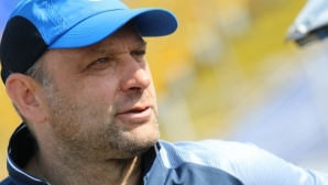 Тити Папазов показа новата екипировка на Левски (снимки)