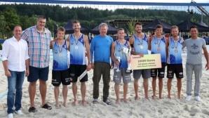 Отлично представяне на Грозданов/Митев на Sofia Beach, швейцарски тандем триумфира