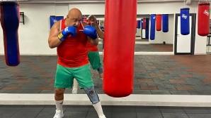 Кралев се отдаде на бокс