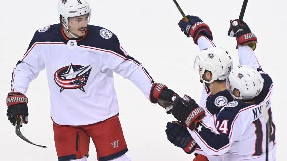 Кълъмбъс се наложи над Торонто и ще срещне Тампа Бей в НХЛ