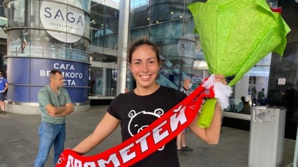 Лора Китипова вече е в Украйна, започва тренировки...
