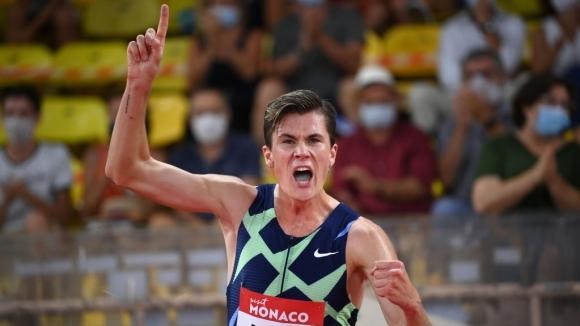 Якоб Ингебрицен подобри европейския рекорд на Мо...