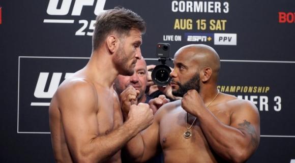Даниел Кормие по-тежък от Стипе Миочич преди UFC 252