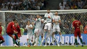 Испания среща Португалия в контрола