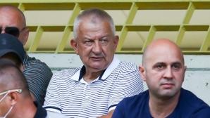 Крушарски: Имах разговор с футболистите и се надявам, че са си взели необходимите поуки