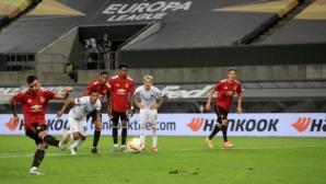 Бруно Фернандеш класира Ман Юнайтед на полуфиналите (видео)