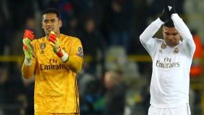 Официално: Реал Мадрид се раздели с вратар
