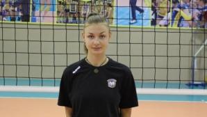 Лора Славчева в първия отбор на Марица за предстоящия сезон