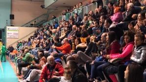 ВК Люлин с подкрепа от местните жители и инвеститор за нова спортна зала