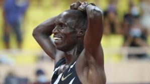 Падна световният рекорд на 5000 метра при мъжете