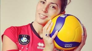 Лора Китипова за националния отбор, жаждата за волейбол и новия сезон (видео)