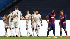 Испания без полуфиналист в ШЛ за първи път от 13 години