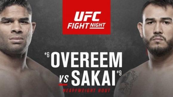 Бойна карта преди UFC Fight Night: Овърийм срещу Сакай