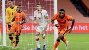 Нидерландия започна с трудна победа при новия селекционер (видео)