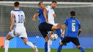 Босна и Херцеговина прекъсна впечатляващата победна серия на Италия (видео)